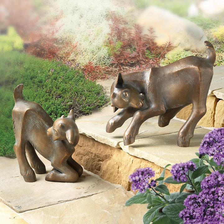 Skulpturen Zicklein