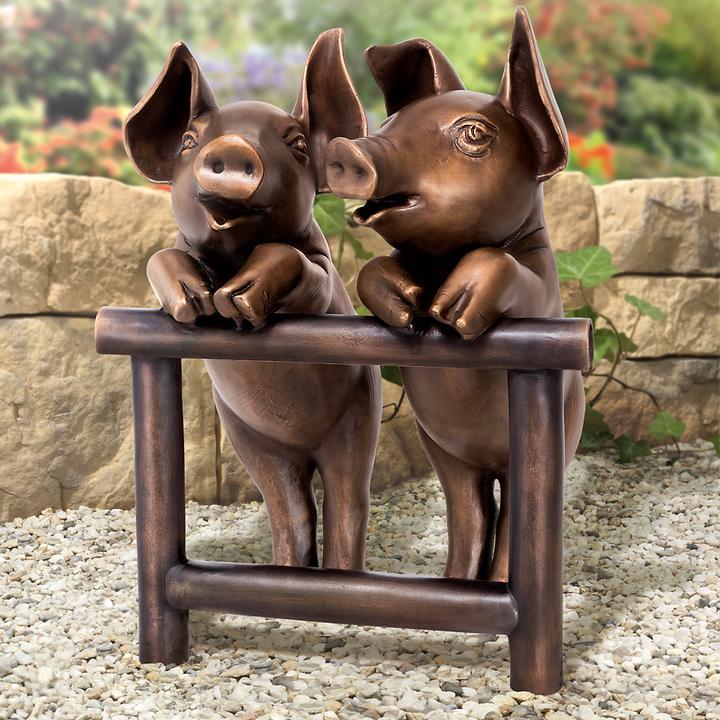 Skulptur Beste Freunde