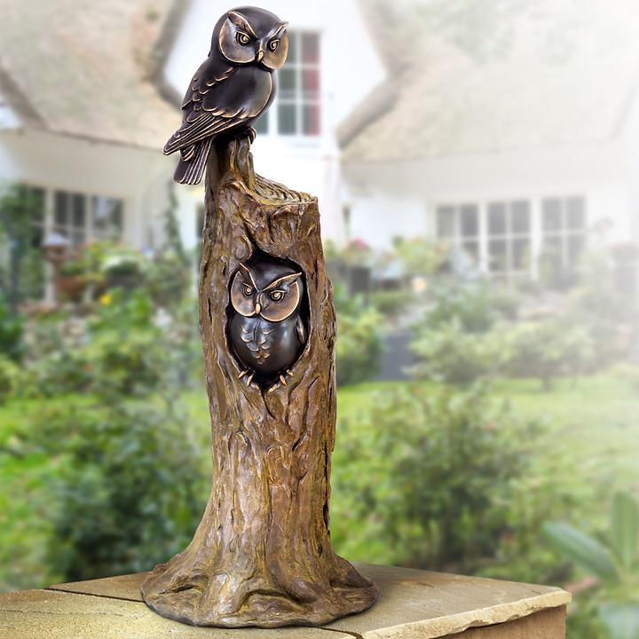 Skulptur Eulenbaum