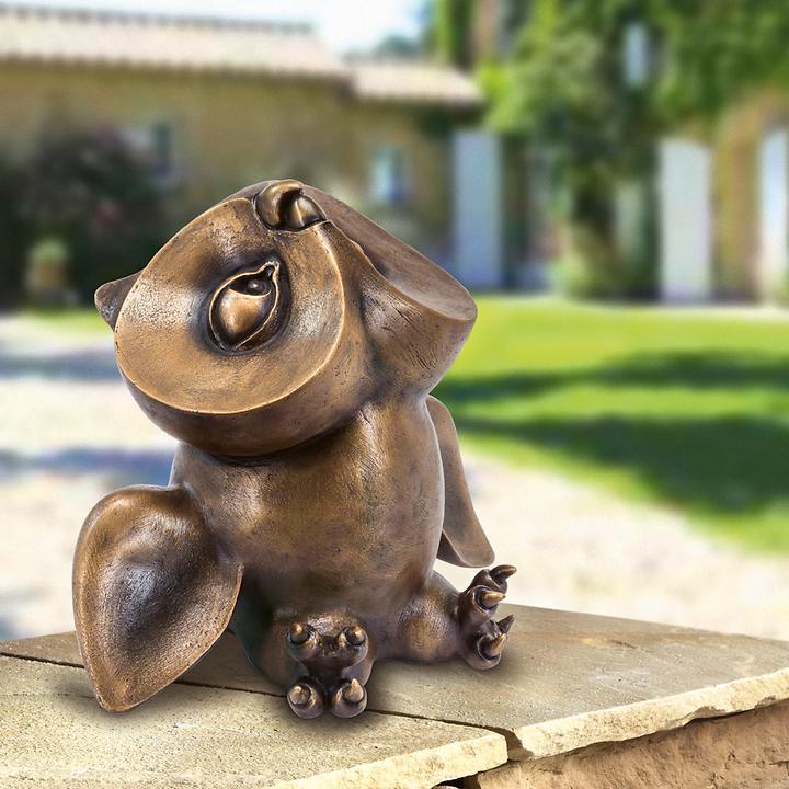 Skulptur Eulenkind