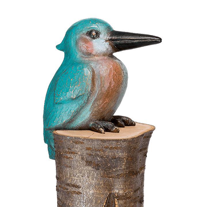 Skulptur Eisvogel