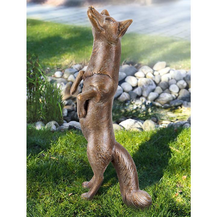 Skulptur Fuchs stehend