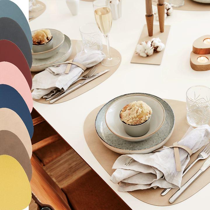 Platzset´s tableMAT, in 3 Formen &7 Farben