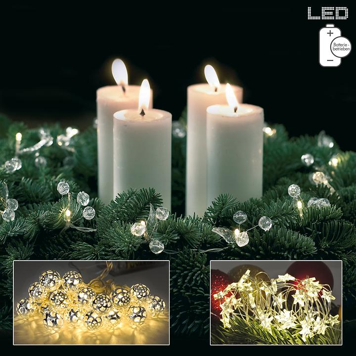Batteriebetriebene LED-Mini-Lichterketten