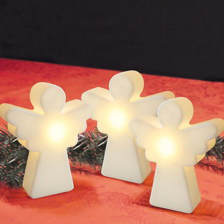 LED-Dekoleuchten Engel & Heilige Familie