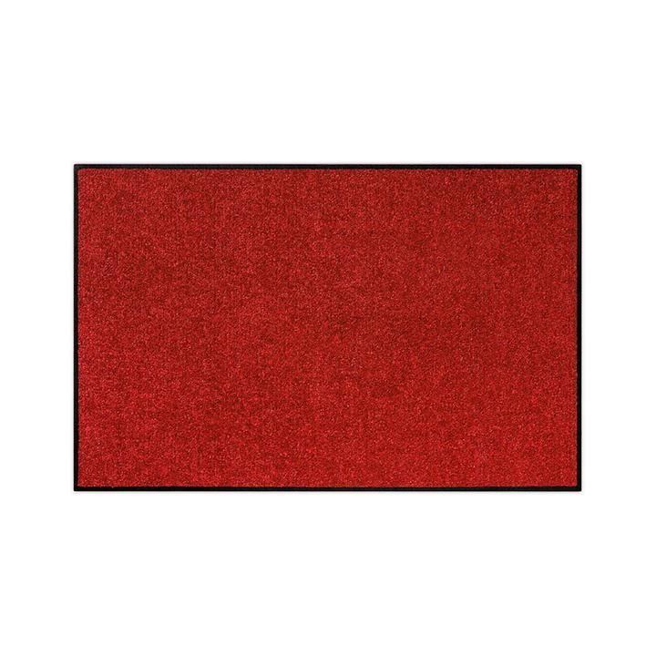 Fußmatte waschbar, weinrot, 50 x 75 cm