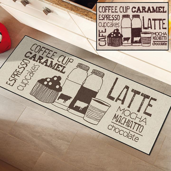 Teppichläufer & Fußmatte Coffeehouse