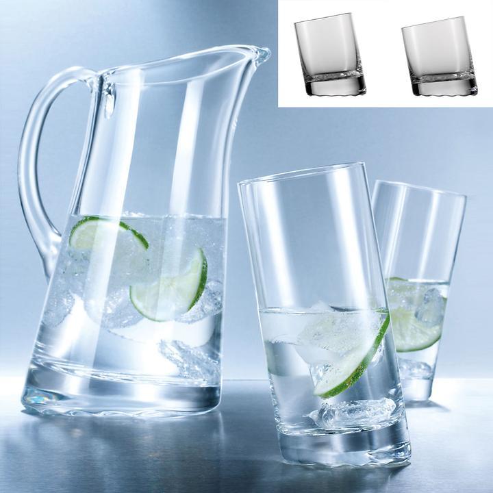Glas-Serie 10 GRAD, 6er Set (ab9,10 EUR/Glas)