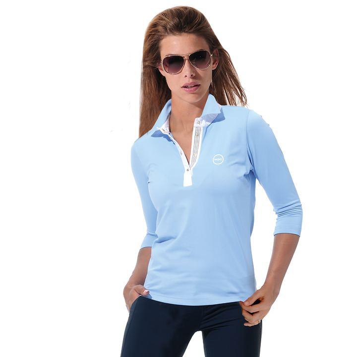 3/4-Arm-Shirt Meryl hellblau Gr. 42