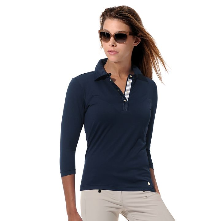 3/4-Arm-Shirt Meryl navy Gr. 42