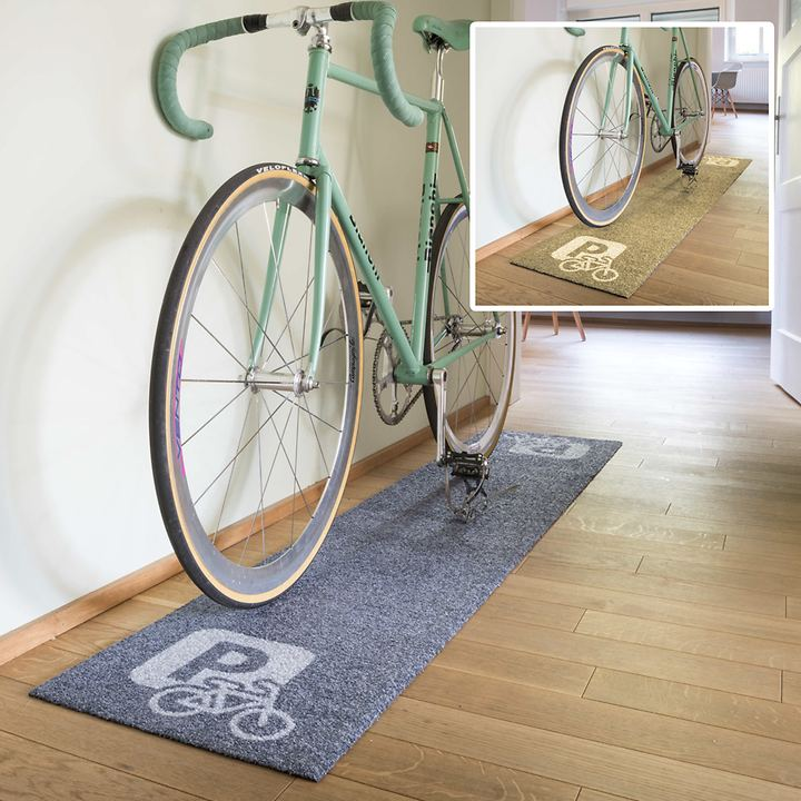 Bodenmatte Fahrradparkplatz