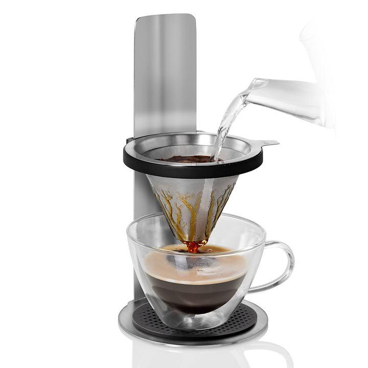 Edelstahl-Kaffeebereiter Mr. Brew
