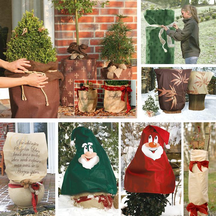 Winterschutz-Helfer für Pflanzen