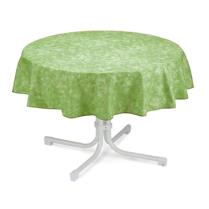 Tischdecke Milo, rund, D:160 cm, grün