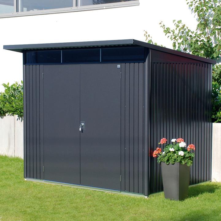 XL-Gartenhaus AvantGarde, dunkelgrau-metallic,