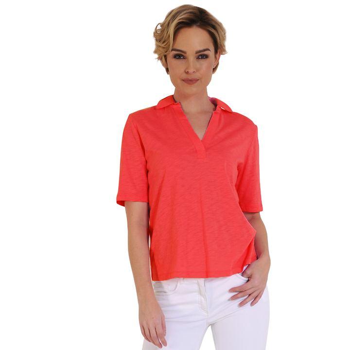 Poloshirt Jasmin koralle Gr.40