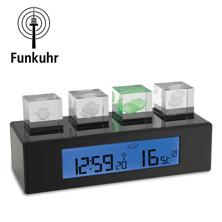 Funk-Wetterstation Crystal-Cube