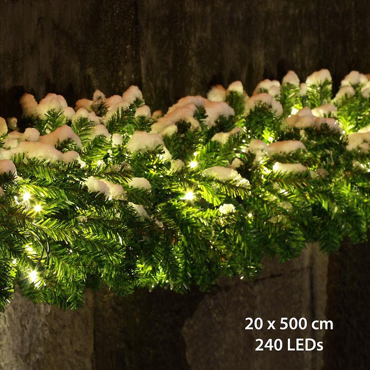 Profi-LED-Tannengirlande 500 cm