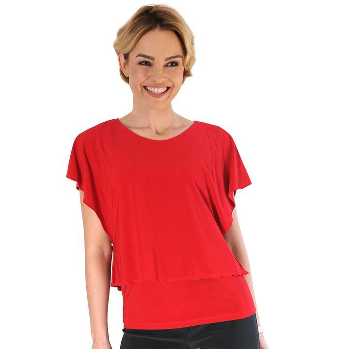 Shirt Olivia rot Gr. 44