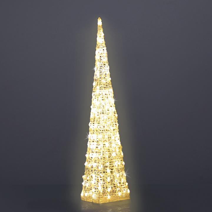 LED-Leucht-Pyramide, H 120 cm