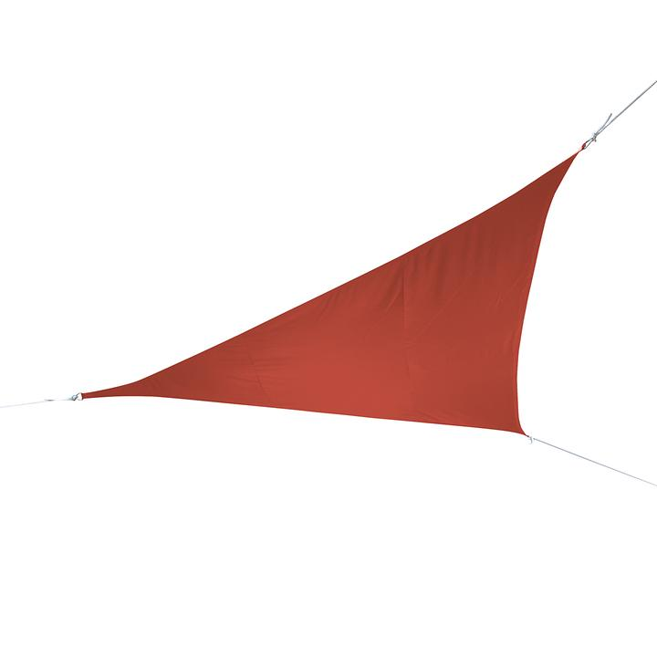 Sonnensegel Triangel 360cm terrakotta