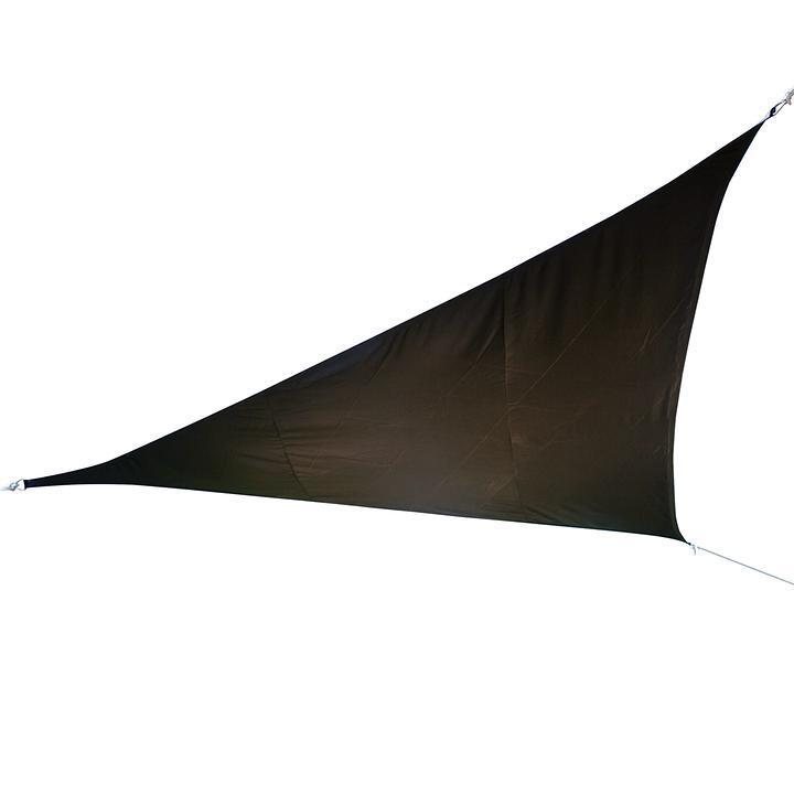 Sonnensegel Triangel 500cm anthrazit