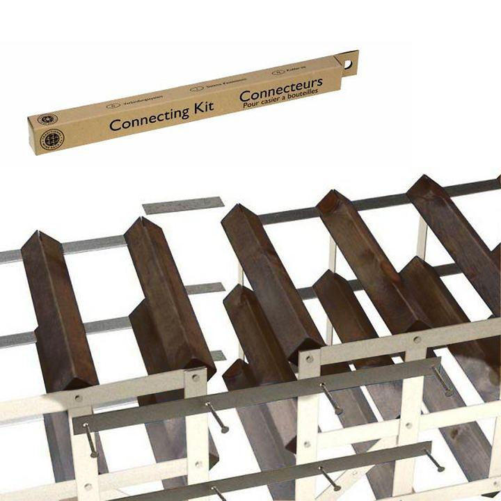 Verbindungs-Set für Weinregal- System TREND, T 30 cm