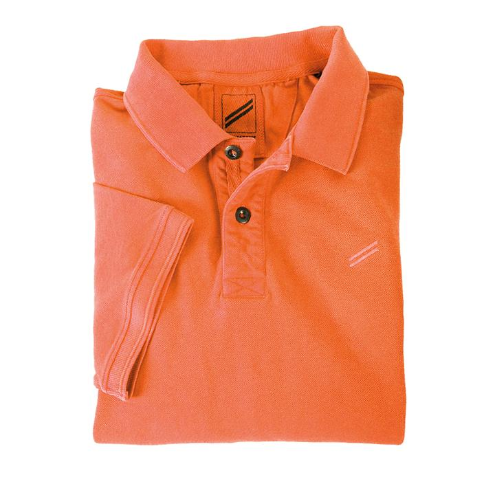 Poloshirt Riviera orange Gr. M