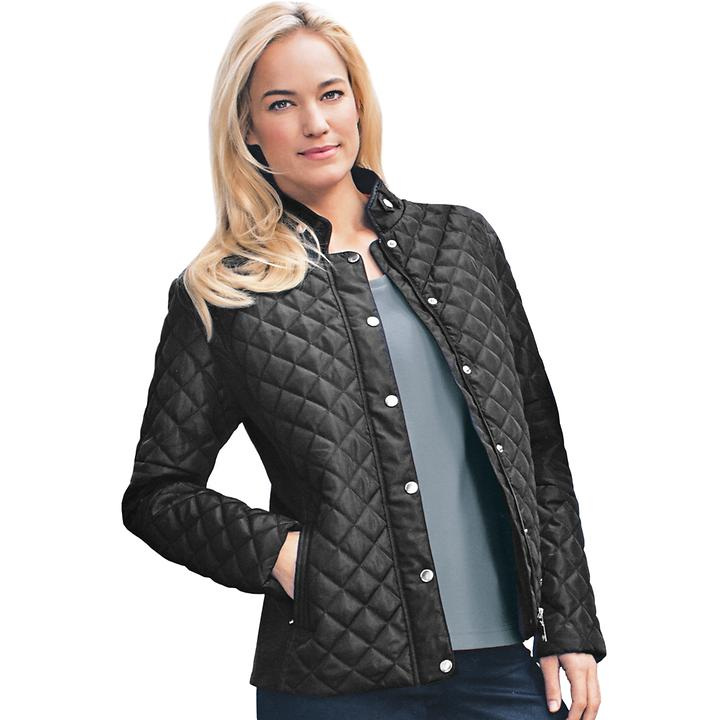 Damen-Steppjacke Kate schwarz, Gr. 36