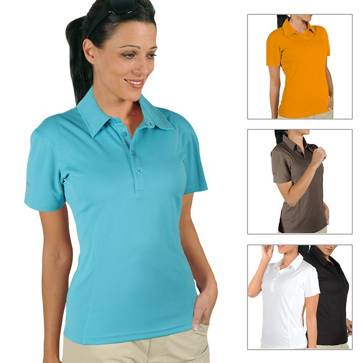 Damen Polo-Shirt Cooldry