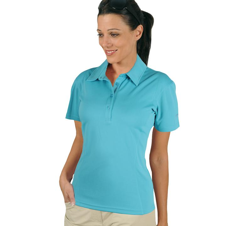 Polo-Shirt Cooldry türkis Gr. L