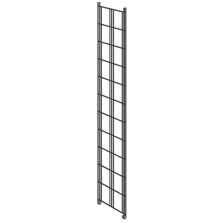 Leiter groß (Seitenwand) zu Metallregal Bill