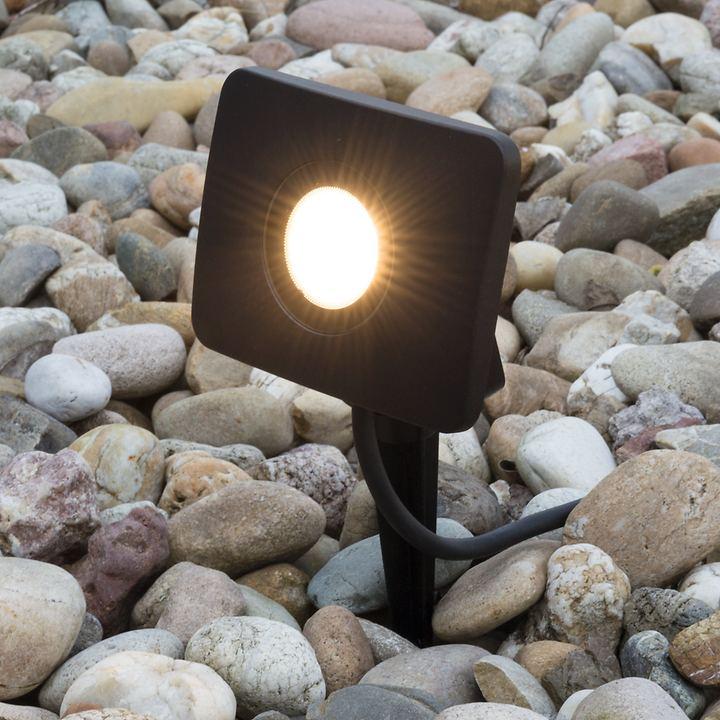 LED-Gartenstrahler Leeds
