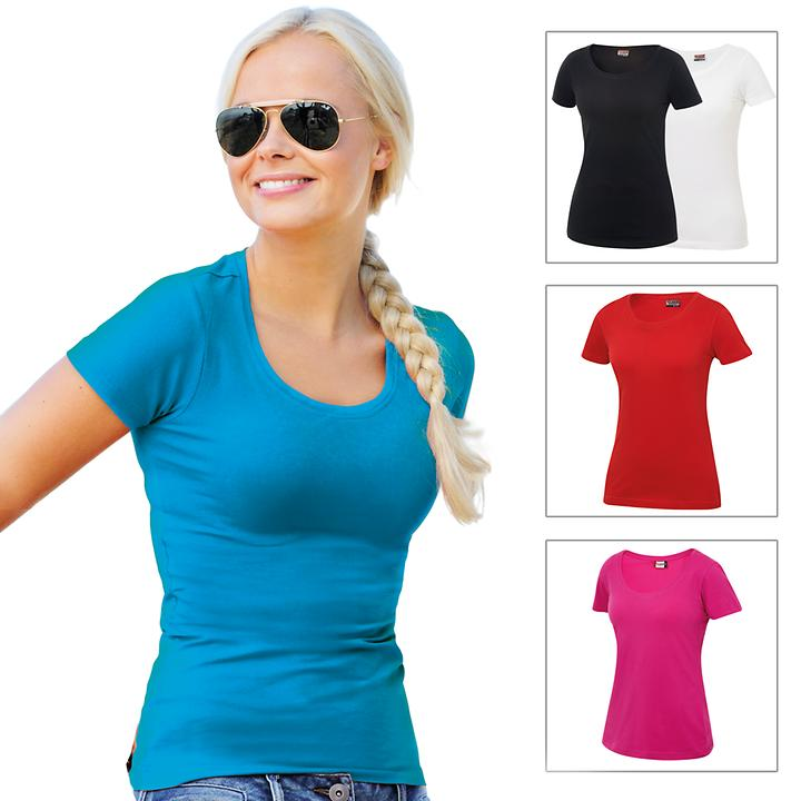 Stretch-T-Shirt Carolina 2er-Set