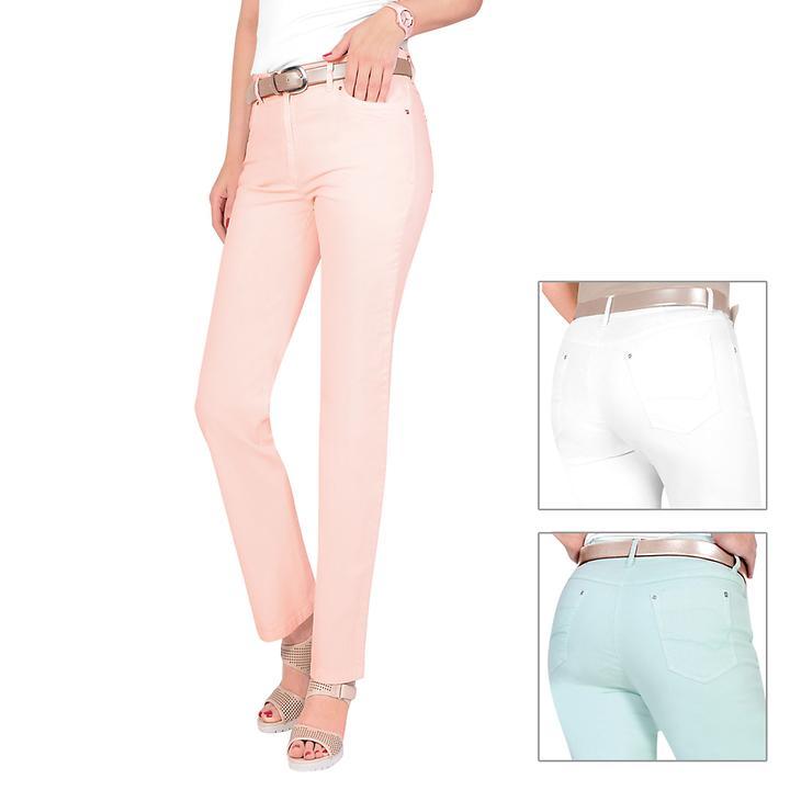 Gerade geschnittene 5-Pocket-Stretch-Jeans