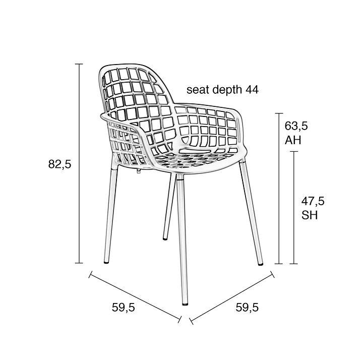 Design Stuhl & Sitzkissen Albert Kuip | Promondo