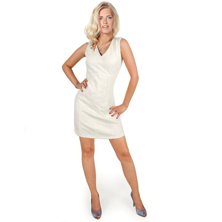 Elastisches Etui-Kleid mit Details