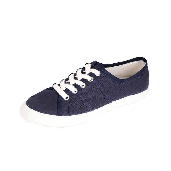 Sneaker Natural dunkelblau