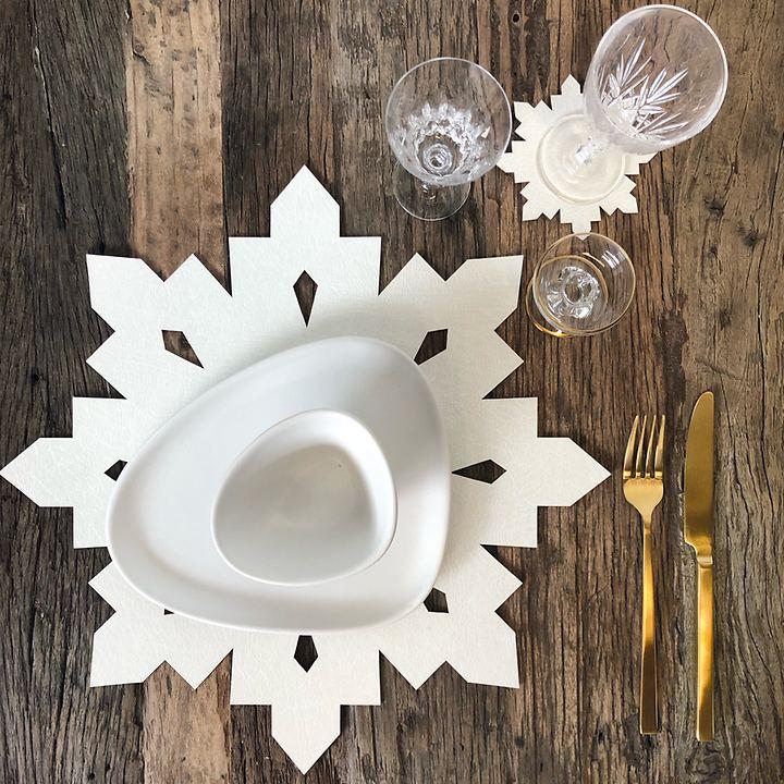 Geschenkset Snowflake, 8-teilig