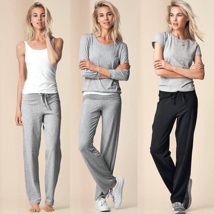 Kombinierfreudige Homewear aus weicher Baumwolle zum Relaxen