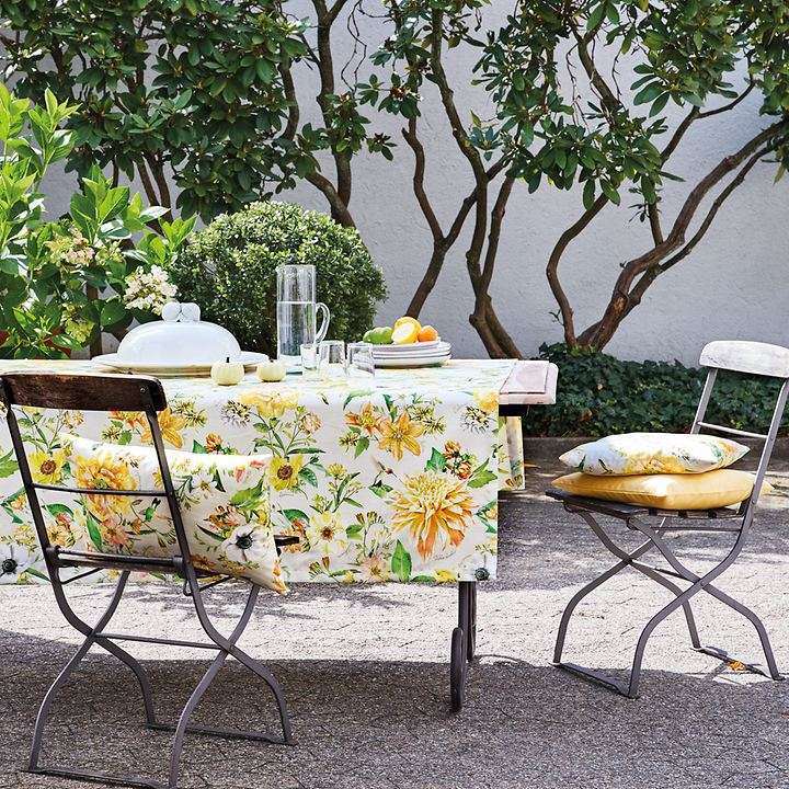 Tischwäschen-Serie Sonnenblume