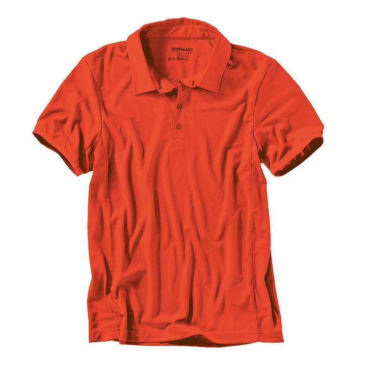 Poloshirt Cooldry orange Gr.XL