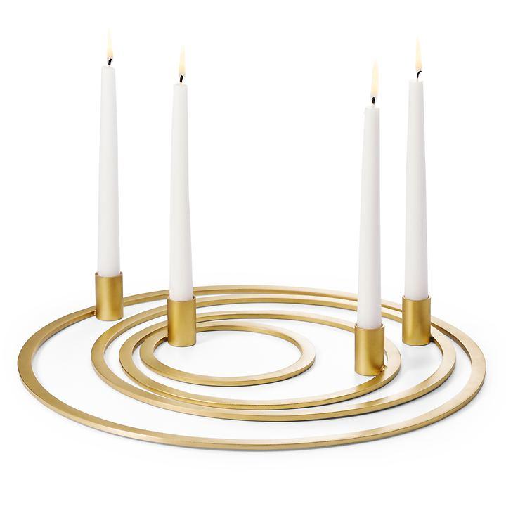 Kerzenleuchter Rings 4-teilig
