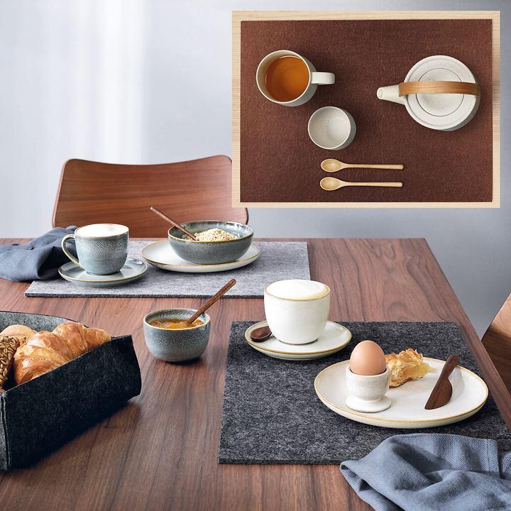 Tischsets Filz, 4er-Set
