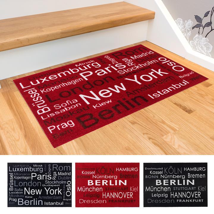 Fußmatten Berlin & New York