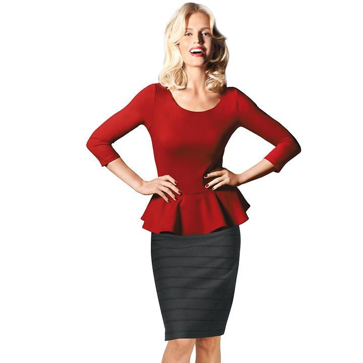 3/4-Arm-Shirt Clarisse, Gr. 42