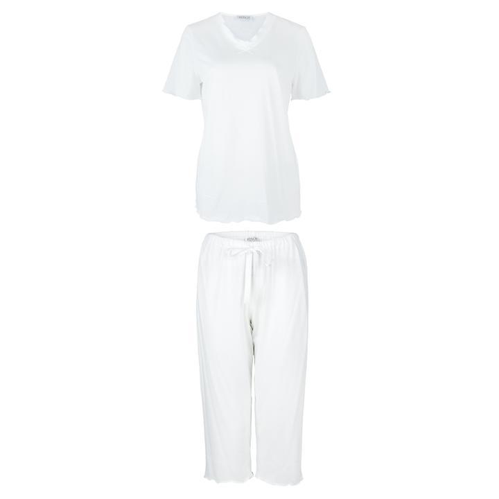 Samtweicher 3/4 Pyjama aus 100% afrikanischer Baumwolle