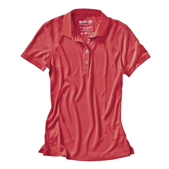 Damen-Poloshirt Cafe Base Rea Polo pink Gr.40