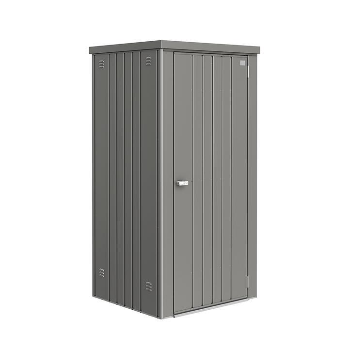 Geräteschrank Steel quarzgrau-metal   Garten > Gerätehäuser   Grau   Biohort
