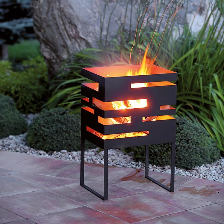Design-Feuerkorb Flame